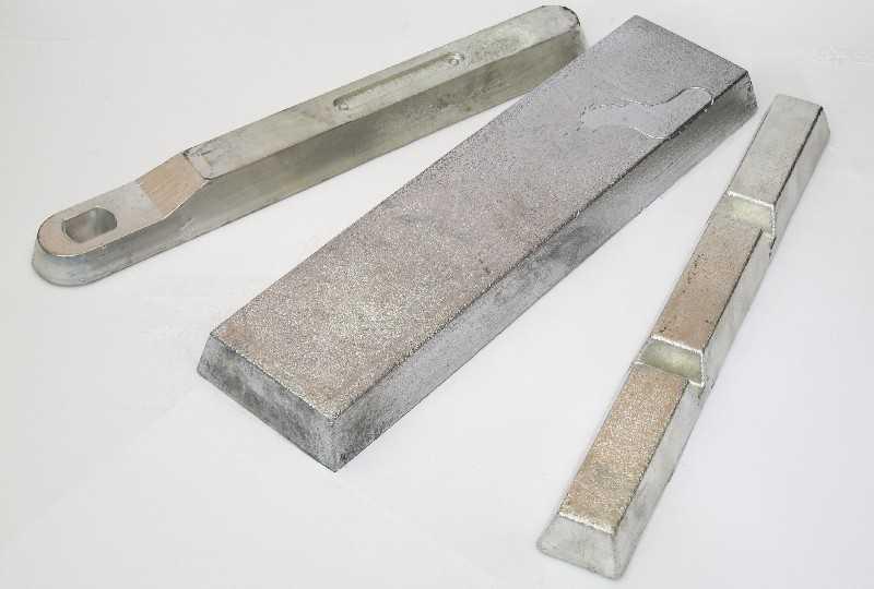 Weissmetall und Lagermetall