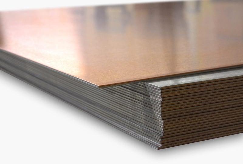 CUPAL ist eine Plattierung von Kupfer auf Aluminium